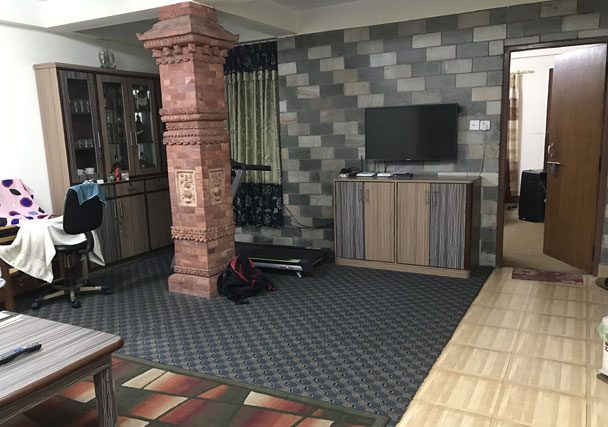 Living Room - House on sale in Maharajgunj