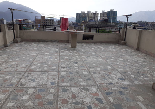 Terrace View - House on sale in Maharajgunj