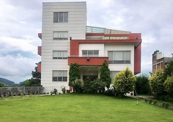 Back View - Bungalow House On Sale in Golfutar Height