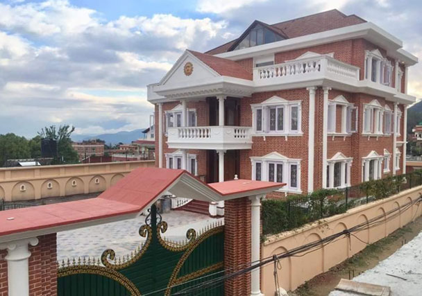 Outside View - Bungalow House On Sale in Budhanilkantha