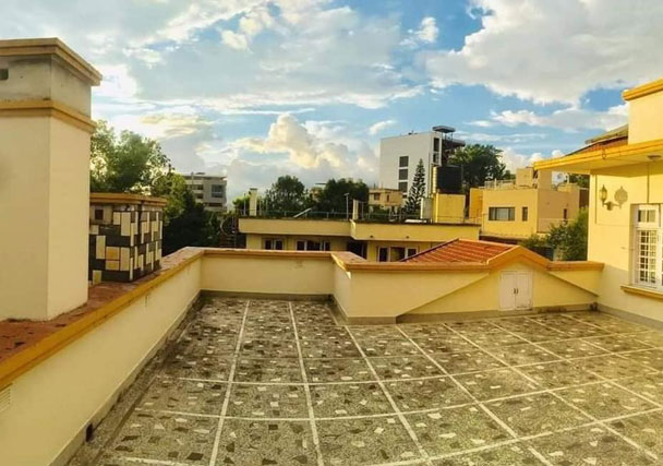 Terrace - House on sale in Maharajgunj
